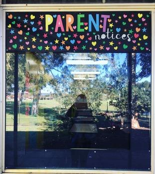 Parent Notices FREEBIE Bulletin Sign