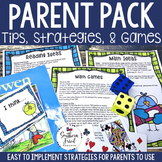Parent Tips, Games, & Handouts