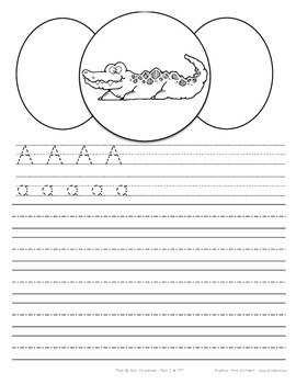 Alphabet Animals Printing Pages