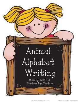 Parent Pack- Alphabet Animals Printing Pages