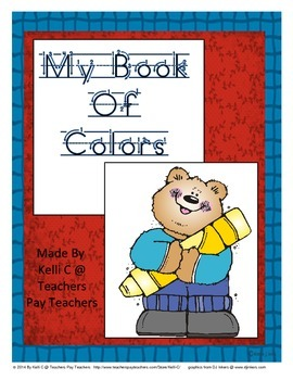 Book to Make about the Colors