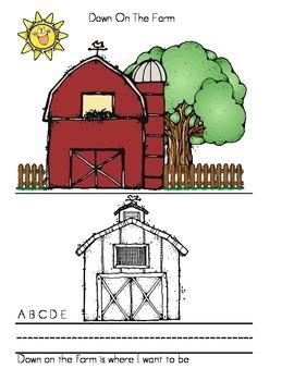 Down On The Farm Alphabet Book