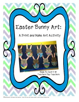 Easter Bunny Art Packet
