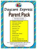 Parent Pack (Sample Handbook & Registration Form, Survey & More) *Able to Edit*