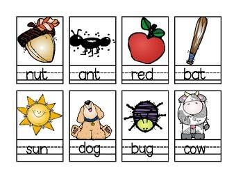 Parent Pack- Spelling 3 Letter Words or CVC's