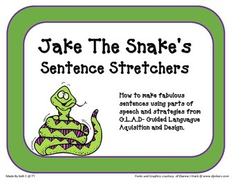 Stretching Sentences with Jake The Snake