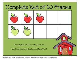 Parent Pack- Ten Frame for All Seasons