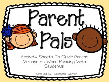 Parent Pals-Response to Reading Pack