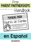 Parent Partnerships Handbook  en Español for Virtual Class