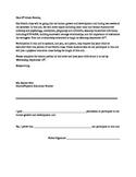 Parent Permit Letter: Sexuality Education