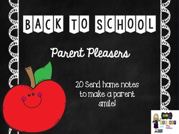 Parent Pleaser Notes