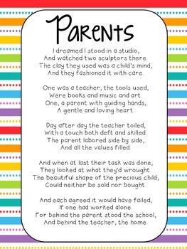 Parent Poem