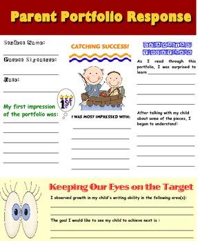 Parent Portfolio Response Form