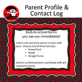 Parent Profile & Parent Contact Log