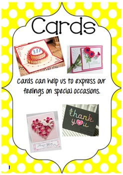 Text Types Display Cards