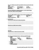 Parent Surveys/Questionnaire
