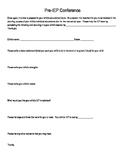 Parent Questionnaire for IEP