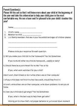 Parent Questions to analyze the gifts of your student