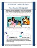Parent Read-Aloud Program Discussion Guides