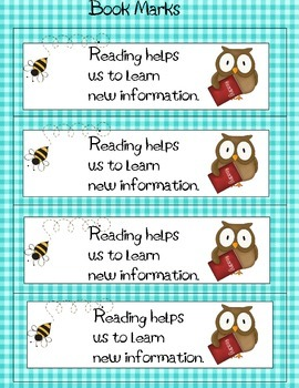 Parent Involved Reading Event Pack