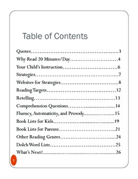 Parent Reading Night Presentation