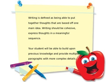 Parent Reading/Writing Presentation
