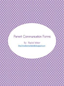 Parent Reminders
