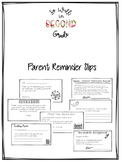 Parent Reminders and Notices