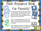 Math Parent Resource Book to Help Support Math Skills