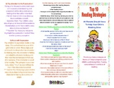 Parent Resource- Top 10 Reading Strategies All Parents Should Know Brochure