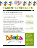 Parent Resources Handout: 4th Grade Math