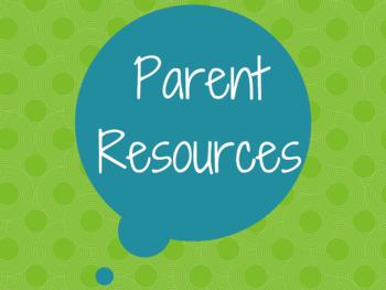 Parent Resources Poster
