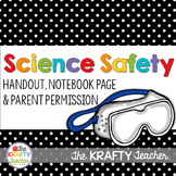 Science Safety Handout and Form - Back to School
