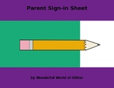 Parent Sign In Form