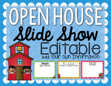 Open House Slide Show {Editable}