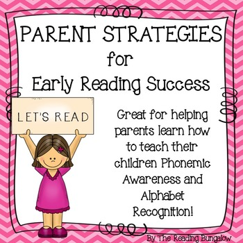 Parent Strategies for Early Reading Success
