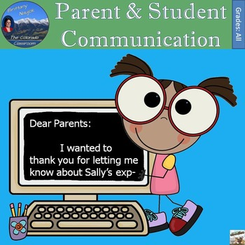 Parent & Student Communication Throughout the Year