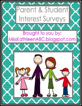 Parent & Student Interest Surveys