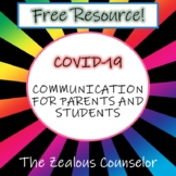Parent/Student Communication and Resources for COVID-19/ D