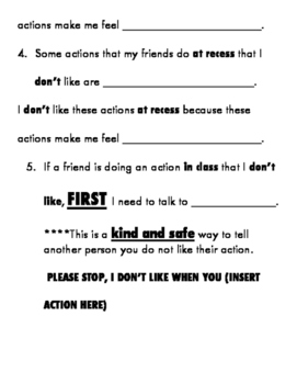 Parent/ Student Social Skills Conversation Guide