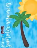 Parent Summer Resources