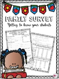 Parent/Family Survey