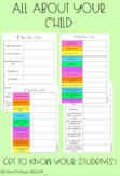 All About Your Child (14 different options)