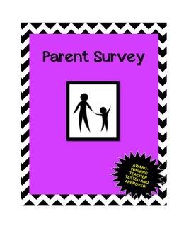 Parent Survey: Increase Parent Involvement in the Secondar