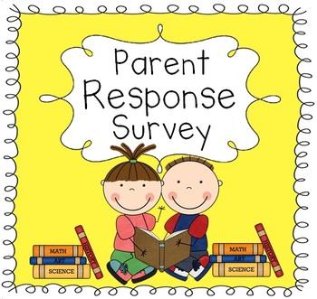 Parent Survey (Parent Questionnaire)