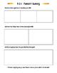 Parent Survey Sheets