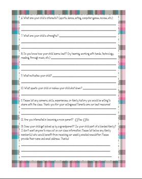 Parent Survey Updated