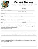 Parent Survey great relationship builder!