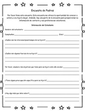 Parent Survey/Contact Information - English and Spanish