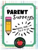 Parent Surveys